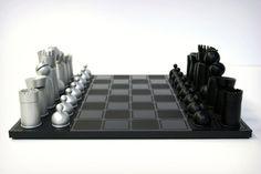The Mars Made Chess Set