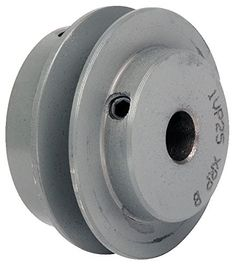 V-Belt Pulley, 1-1/8'VrPitch, 4.15'OD, Iron -- Read more details by clicking on the image. #hairdo