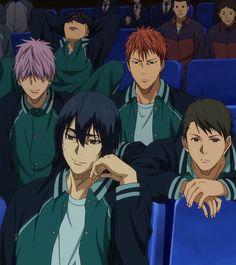 Kuroko no Basket - Kirisaki Daiichi High (霧崎第一高校)