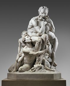 Jean-Baptiste Carpeaux (French, 1827–1875). Ugolino and His Sons, modeled ca. 1860–61, executed in marble 1865–67. The Metropolitan Museum of Art, New York.