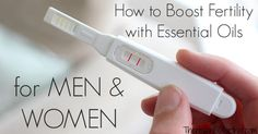 Learn how to boost fertility with essential oils for anything ranging from sexual nervous tension, low sperm count, motility, and complete uterine support.