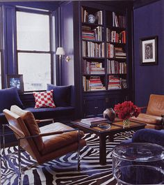 Purple Room... If I ever have a library...