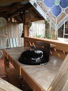 1000 Images About Outdoor Kitchen On Pinterest Weber Grill Grill Table And Kettle