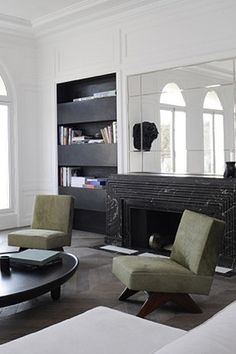 Neuilly Apartment - Designed by Joseph Dirand, Paris.