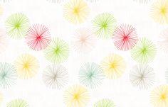 Dandelions Confetti by Friztin fabric by friztin on Spoonflower - custom fabric