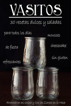 """Find magazines, catalogs and publications about """"vasitos 30 recetas"""", and discover more great content on issuu. Clean Recipes, Raw Food Recipes, Sweet Recipes, Shot Glass Appetizers, Dessert Shots, Tasty, Yummy Food, Healthy Food, Brunch Party"""