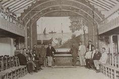 Salón de actos en la planta alta de la sede de 'La Cultura', Prado del Rey (Cádiz) / Archivo Fernando Romero