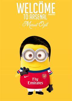 Welcöme to Arsenal Mesut Özil :)