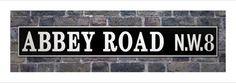 http://www.ebay.com/itm/New-Abbey-Road-N-W-8-Street-Sign-Famous-Recording-Studio-Street-Sign-Print-/380877673031?roken=cUgayN