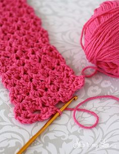 """Crochet Ear Warmer I chained 25 to make it wider with a 5.5 hook, flower 6.5 hook. Thicker yarn 6.5 hook chain 20. 18"""" long. If using buttons 19"""" long to overlap."""