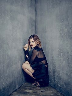 """Pretty Little Liars S7 Lucy Hale as """"Aria Montgomery"""""""