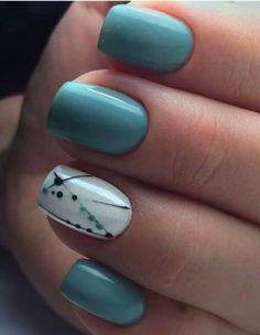 80 + elegante quadratische Nail Art Designs - nail polish - - The most beautiful nail designs Square Acrylic Nails, Square Nails, Acrylic Nail Designs, Spring Nail Art, Spring Nails, Summer Nails, My Nails, Hair And Nails, Long Nails