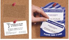 CardCues Business Card Holders - Business Card Holder for Bulletin Board Marketing