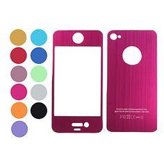 Sticker Métallique pour iPhone 4 – USD $ 5.49