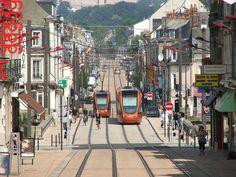 Rue Gambetta -  Le Mans - Sarthe