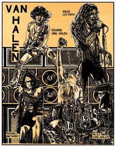 "1980 VAN HALEN "" CARNIVAL STATE FAIR "" - Click Image to Close"