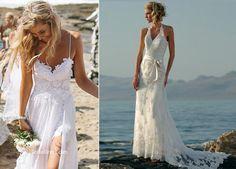 Vestido de renda casamento na praia                                                                                                                                                                                 Mais