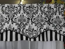 Love this ste valence for kitchen window Black Window Treatments, Window Valance, Curtains, Black And White Valance, Door Window Treatments, Window Coverings Diy, Curtains Window Treatments, Kitchen Window, Valance Window Treatments