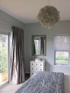 Chandelier & wall colour - Master bedroom!