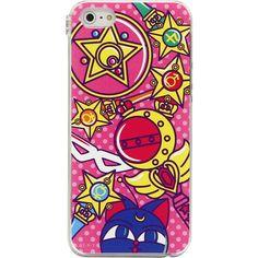 Amazon.co.jp: 美少女戦士セーラームーン・iPhone5対応キャラクターハードケース(アイコン柄)