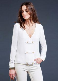 Blouse Dimitri // Lookbook Capsule Plein Hiver Prêt-à-Porter - www.sezane.com  #sezane #blouse #dimitri #lookbook #hiver