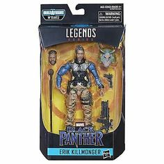 "Marvel Legends Black Panther vibranium 6/"" Figure Wave 2 BAF m/'baku en stock NEUF"
