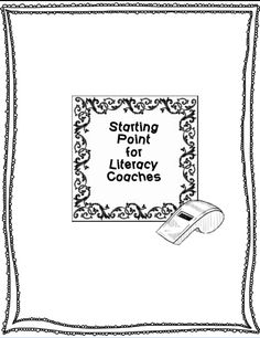 The Coaching Network: Starting Point for Literacy Coaches
