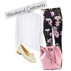 Weekend in Paris by melponias on Polyvore featuring Dorothee Schumacher, Ted Baker, Charlotte Olympia and Michael Kors