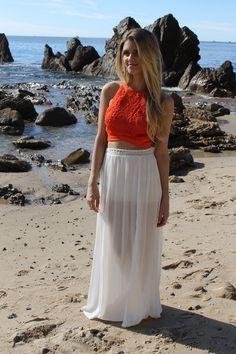 Gypsy Crochet Skirt