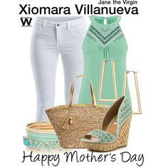 Inspired by Andrea Navedo as Xiomara Villanueva on Jane the Virgin.