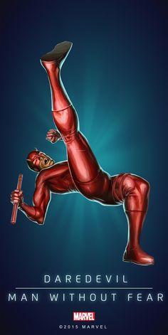 Сорвиголова - человек без страхов Daredevil - man without fear.