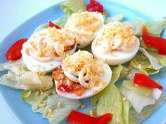 Recetas de huevos rellenos de lo más variado