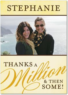 Countless Thanks - Thank You Greeting Cards from Treat.com
