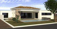House Extension Plans, House Front Design, Best House Plans, Good House, House Extensions, Home Deco, Bungalow, Villa, Exterior