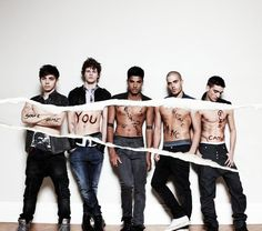 Nathan Sykes, Jay McGuiness, Siva Kaneswaran, Max George and Tom Parker - The Wanted