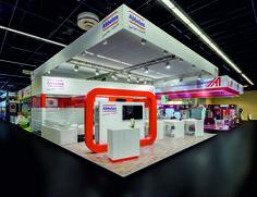 Abbelen GmbH Referenzbeispiel zur Anuga, Köln 110 m²