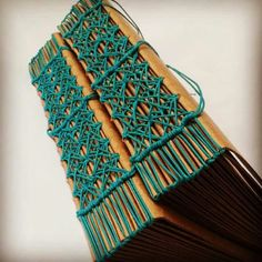 Beautiful bookbinding details from Thailand. The sort of book you don't need to open to enjoy.