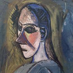 Pablo Picasso, voorstudie Demoiselles d'Avignon Pablo Picasso, Henri Matisse, Musée National D'art Moderne, Centre Pompidou Paris, Cubist Movement, Spanish Painters, 2d Art, Abstract Photos, A 17