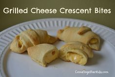 Grilled Cheese Crescent Bites - What if you put PIMENTO CHEESE inside crescents??
