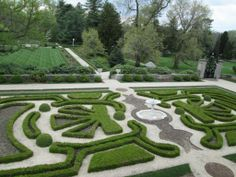 The Gardens at Nemours Mansion from our recent trip to the Brandywine Region.