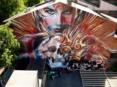 Streetart: Rone x Meggs New Mural In Melbourne // Australia (10 Pictures)