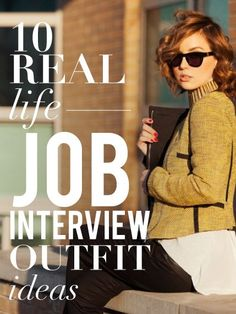 10 women reveal what they wore to the interview that got them the job - genius!: how to prepare job interview Interview Outfit Summer, Job Interview Outfits For Women, Interview Attire, Interview Clothes, Interview Style, Job Interviews, Business Professional Outfits, Professional Attire, Business Casual