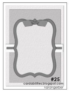 Cardabilities: Card Sketch  #25