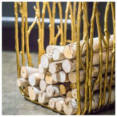 Interior HomeScapes offers the Twig Stool/Firewood Holder by Gold Leaf Design Group.  Visit our online store to order your Gold Leaf Design Group products today.
