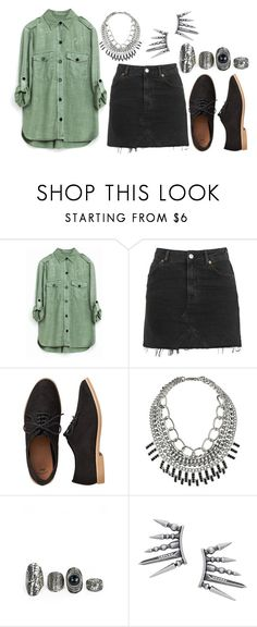 """Untitled #1193"" by adc421 on Polyvore featuring Topshop and Gap"