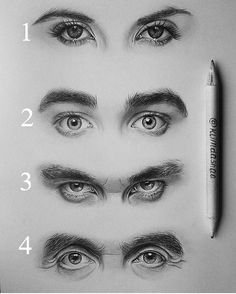 Excellent Stunning and Sensible pencil drawings of eyes - Magical realistic-eye-drawing-of-klimd. Eye Pencil Drawing, Realistic Pencil Drawings, Guy Drawing, Drawing Eyes, Pencil Art Drawings, Art Drawings Sketches, Drawing People, Eye Drawings, Drawings Of Men