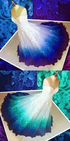 amazing diy wedding dresses ideas,so fantasy!love this post