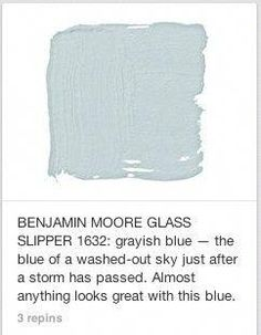 For the Home 46 Super Ideas Bauernhaus Küche blau Benjamin Moore Giving Juice To Your Baby Fruit jui Room Colors, Wall Colors, House Colors, Bedroom Wall Colour Ideas, Bedroom Ideas, Exterior Paint Colors, Paint Colors For Home, Paint Colours For Bedrooms, Light Blue Paint Colors