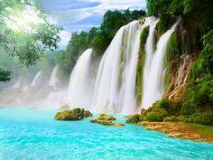 Niagra of India - Athirappilly Falls Near Kochi, Kerala, India
