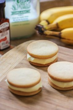 banana pudding sandwich cookies